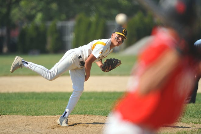 Avery Acuna and the Central baseball team take on Coventry Monday with a spot in the state championship series on the line.