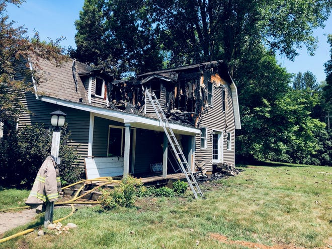 This home is being called a total loss after a fire on Friday morning.