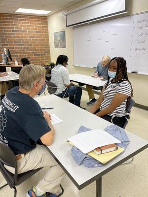 Summer employment program interviews.