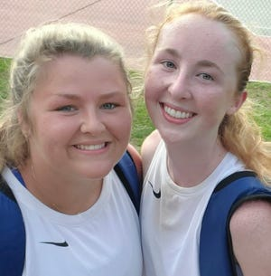 Terry Sanford doubles team Caroline Beasley and Mary Anna Stiles, Patriot Conference Champions, qualified for this weekend's NCHSAA 3-A state championship.