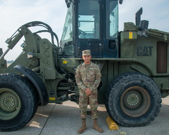 Airman 1st ClassCristian Canales, who is at Pope Army Airfield at Fort Bragg, is in the process of becoming an American citizen.