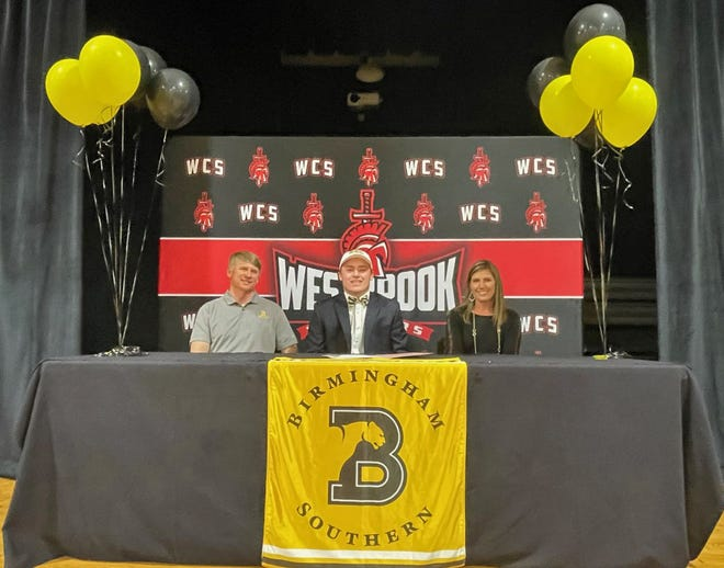 Westbrook Christian's Jackson Bowman plans to golf at Birmingham Southern.
