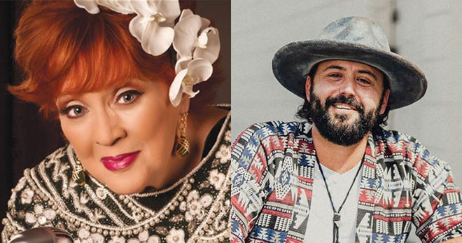 Lulu Roman and Chad Steed will perform Friday and Saturday at the Gadsden Country Club in a fundraiser for Theatre of Gadsden.