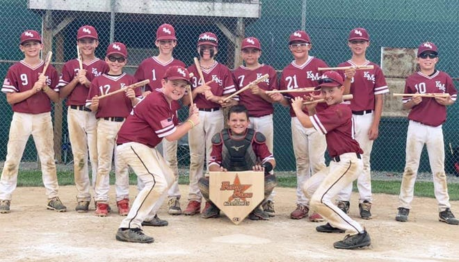 The KMS Barnstormers 11U baseball team, based in Clear Spring, went 5-0 to win the Future Stars Father's Day Tournament in Hershey, Pa.