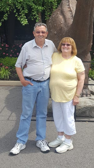 Happy 50th wedding anniversary.Donnie and Charlene UnderhillTedrow were married on June 26,1971 at the Northwood Gardens in West Baden Springs.