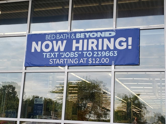A central Ohio Bed Bath & Beyond is seeking workers. Economists and employers offera variety of explanations for the national labor shortage.