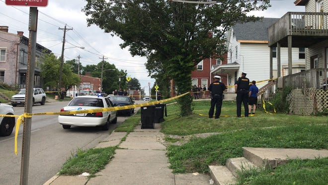 Police responded to a report of a triple shooting Monday in East Price Hill.