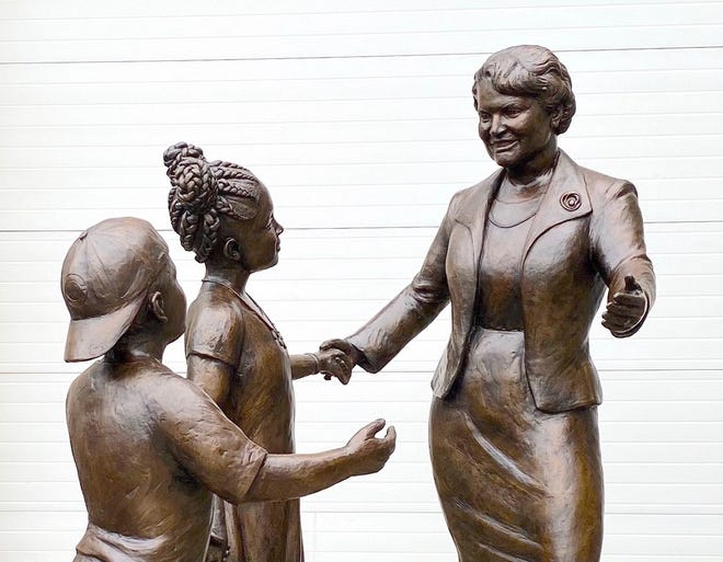 The Marian A. Spencer statue will be unveiled in Smale Park on Sunday, June 27.