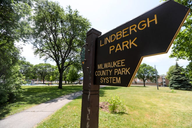 Lindbergh Park pictured Saturday, June 19, 2021, in Milwaukee. The park may soon be renamed for Lucille Berrien, a life-long activist in Milwaukee.