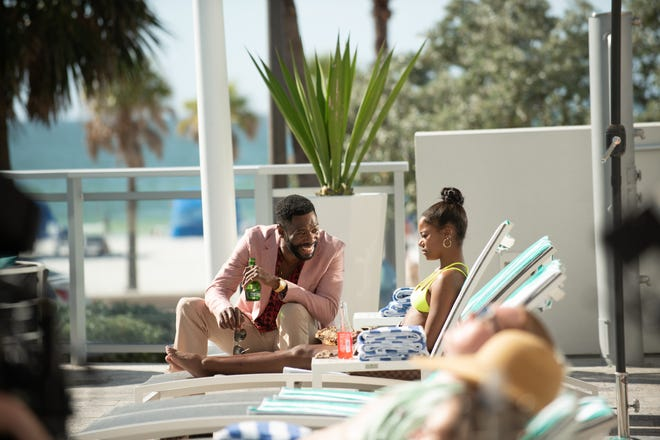 Colman Domingo and Taylour Paige in