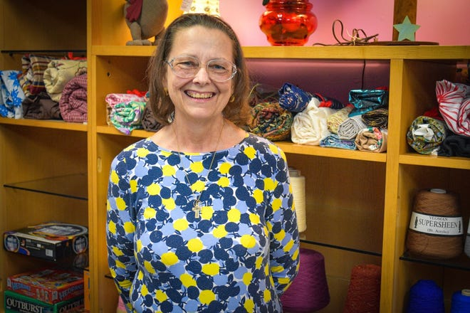 Dawn McCarroll's vision for her shop, Dawn's Folly, slowly transformed into what it is today: an arts and crafts store which offers handmade items and craft supplies.