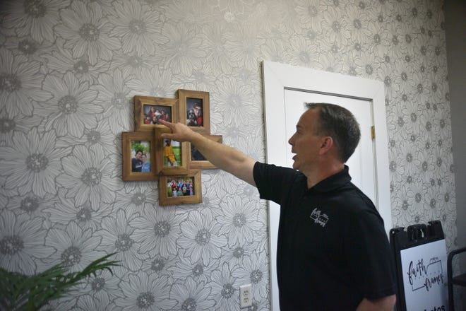 Steve Johnson is the president and photographer at Faith Through Frames, a local nonprofit that is a candidate for the A Community Thrives grant program sponsored by USA Today. Johnson shares the story of some of his favorite clients with the Argus Leader on June 21, 2021.