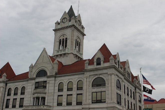 Cole County Circuit Courthouse in Jefferson City on June 21, 2021. A hearing at the circuit court Monday was the first step in the legal battle over Medicaid expansion in Missouri.