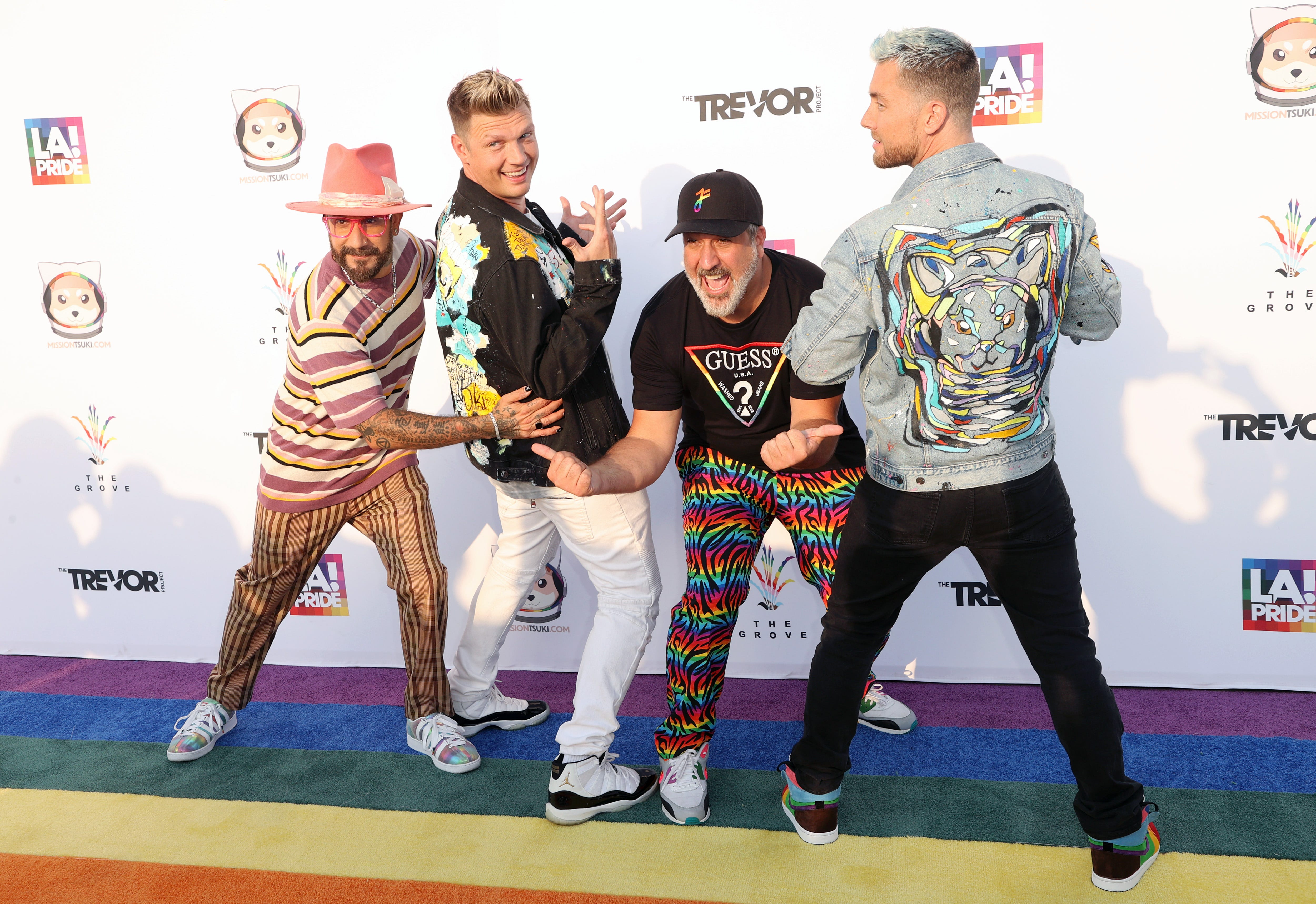 Bye Bye Bye rivalry: Backstreet Boys and NSYNC members form  dream team  band  Back-Sync