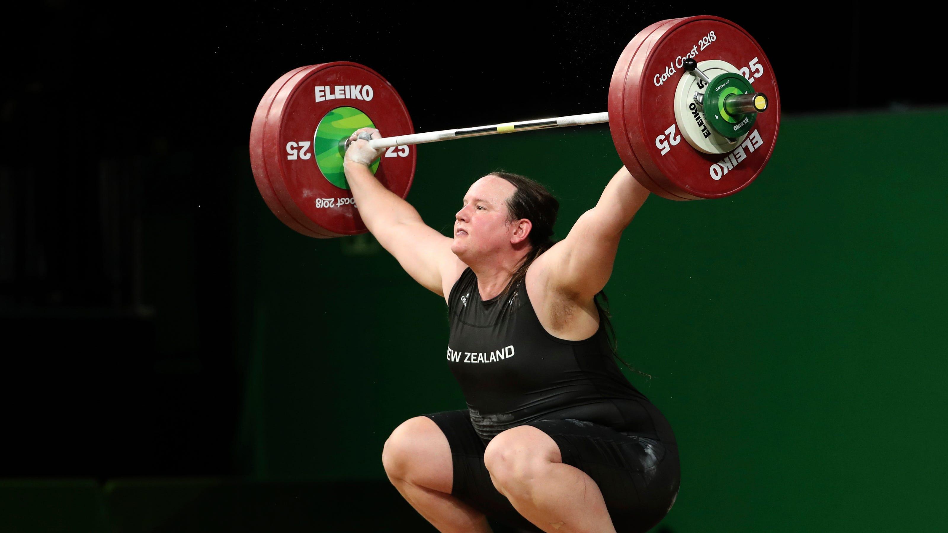 Transgender weightlifter Laurel Hubbard to compete at ...