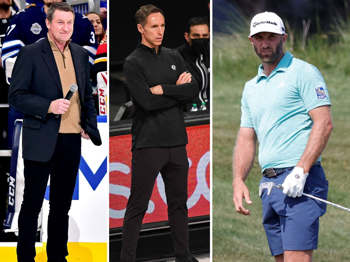 Wayne Gretzky, Steve Nash and Dustin Johnson invest in new National Lacrosse League team