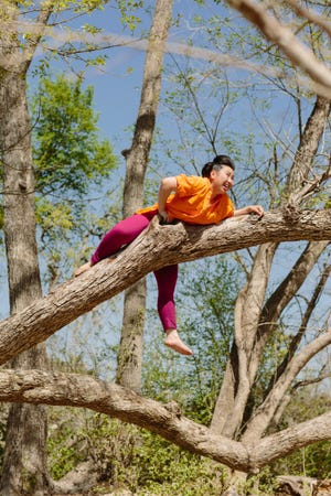 """Ivy Le is trying to embrace nature and the outdoors as she attempts to go camping for her new Spotify podcast """"Fear of Going Outside."""""""