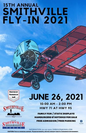 The 15th annual Smithville Fly-in will take flight Saturday at Smithville's municipal airport.