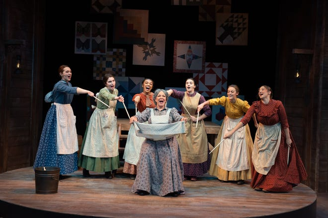 """The musical """"Quilters"""" reopens Porthouse Theatre for the 2021 summer season."""