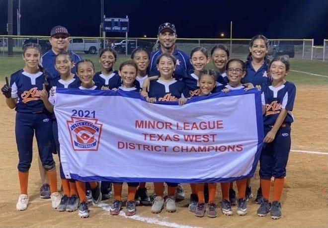Alice Minor League Texas West District Champs.