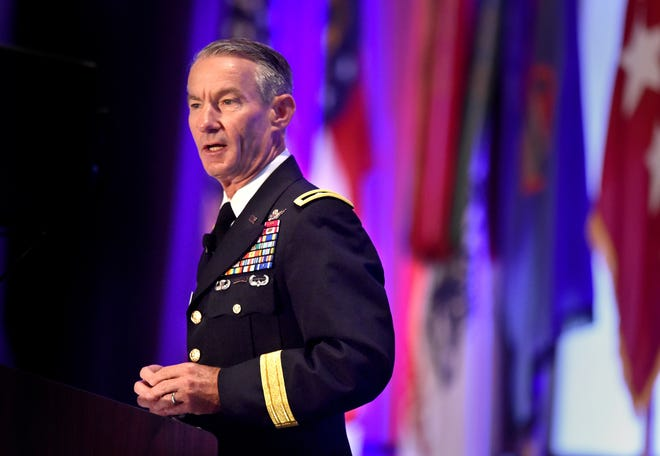 Major General Neil S. Hersey, Commanding General of the Cyber Center of Excellence and Fort Gordon will be replaced by Brig. Gen. Paul Stanton during a change of command ceremony next week. Hersey will remain at Fort Gordon.
