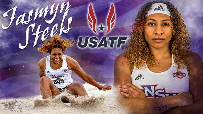College Station native Jasmyn Steels will long jump at the U.S. Olympic Trials on Thursday in Eugene, Oregon.