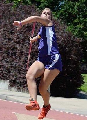 South Beauregard's Trinity Spooner was named to the Louisiana Sports Writers Association all-state track and field team thanks to her performance at the Class 3A state meet early last month.