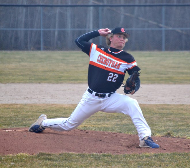 Cheboygan's Caleb Williams was recently named to the Michigan High School Baseball Coaches Association's (MHSBCA) Division 2 All-State first team.