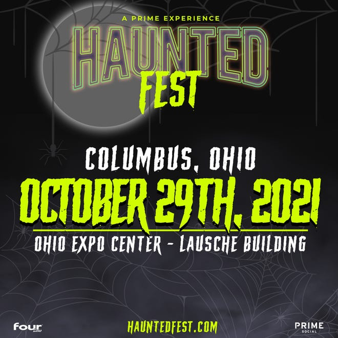Haunted Fest will take place Oct. 29 at the Ohio Expo Center.