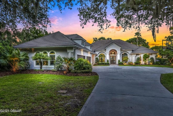 This 5,500-square-foot custom Intracoastal Waterway estate in Ormond Beach embodies the true meaning of resort-style living.