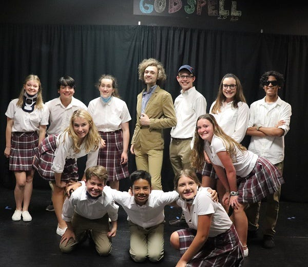"""Students at Apex Theatre Studio put on """"Godspell"""" in St. Augustine Monday and Tuesday evenings."""