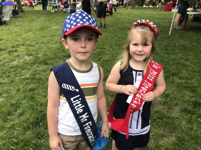 Kemper Trigg and Payton Williams will reign over the Galva Freedom Fest