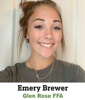 Emery Brewer Glen Rose FFA.