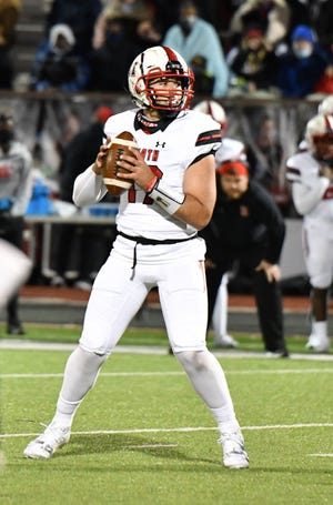 Rockwall-Heath quarterback Josh Hoover committed to IU in the class of 2022.