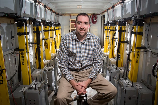 Christopher Weiss is a professor of atmospheric science and Texas Tech's lead investigator in the Cooperative Institute for Severe and High-Impact Weather Research and Operations.