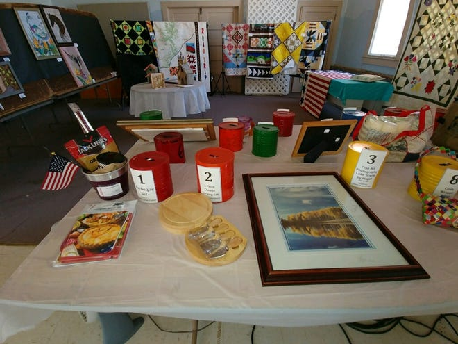 Art pieces from the 2019 Missouri Day Art Show in Fowler.
