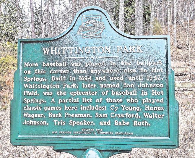Whittington Park in Hot Springs.