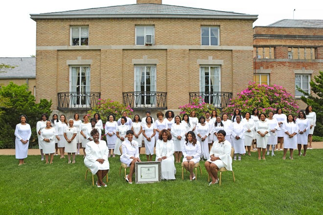 Alpha Kappa Alpha Sorority Inc. chartered the fifth graduate chapter in Delaware on May 16 at the DuPont Country Club in Wilmington.