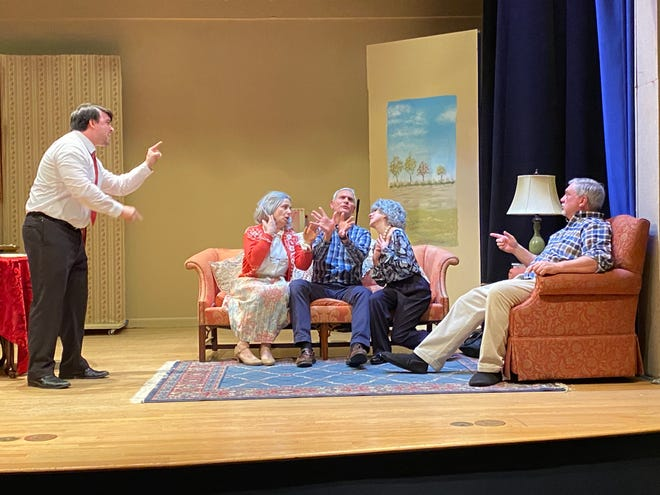 """Square One Players production of """"Over the River and Through the Woods"""" will have its opening night performance on July 31."""