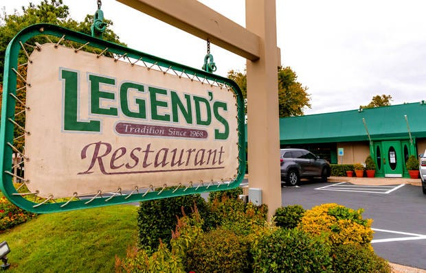 Legend's Restaurant in Norman, Okla. on Friday, Oct. 23, 2020. Legend's is preparing to reopen its dining room for the first time since April for its annual Thanksgiving feast. [Chris Landsberger/The Oklahoman]