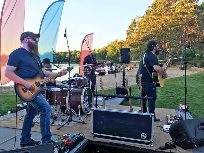 The Drew Hale Band is pictured performing in a previous Sojourn Summer Concert Series and will be returning to kick of this year's series on Wednesday, June 30.