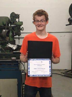 Pellston student Drue Duffield received a new Jobs for Michigan's Graduates scholarship.