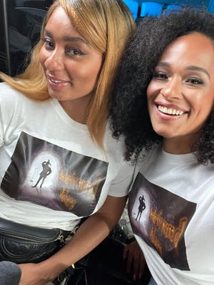 Nnemdia Anderson and Monique Lynch-Cosme will host the Underground Jokers Comedy Series on Saturday.