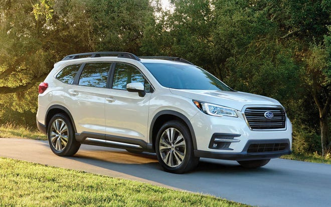 Power for the 2021 Subaru Ascent comes from a 2.4-liter four-cylinder engine, which makes 266 horsepower and 277 pound-feet of torque.