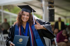 Kent State graduates can now qualify for up to $2,000 toward graduate school with the introduction of the Go Further Scholarship program.