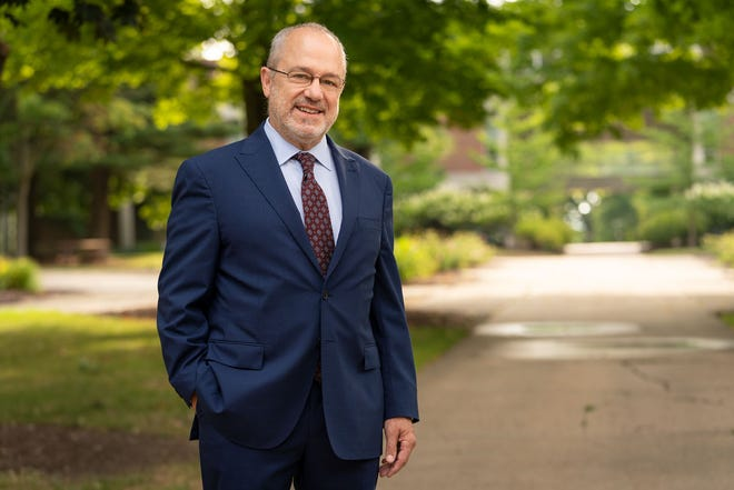 David P. Haney has been named the 23rd president of Hiram College. He has held the post on an interim basis since the fall.
