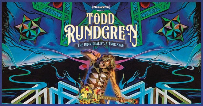 Todd Rundgren is bringing his tour to the Canton Palace Theatre on Oct. 29. The concert will be the night before his induction into the Rock & Roll Hall of Fame in Cleveland.