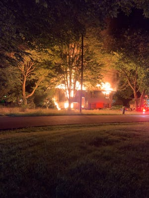 The Ohio State Fire Marshal's Office ruled that a fire on the 3900 block of Northdale St. NW in Uniontown was intentionally set. The Uniontown Fire Department, with the help of several neighborhing departments put the blaze out in about an hour.