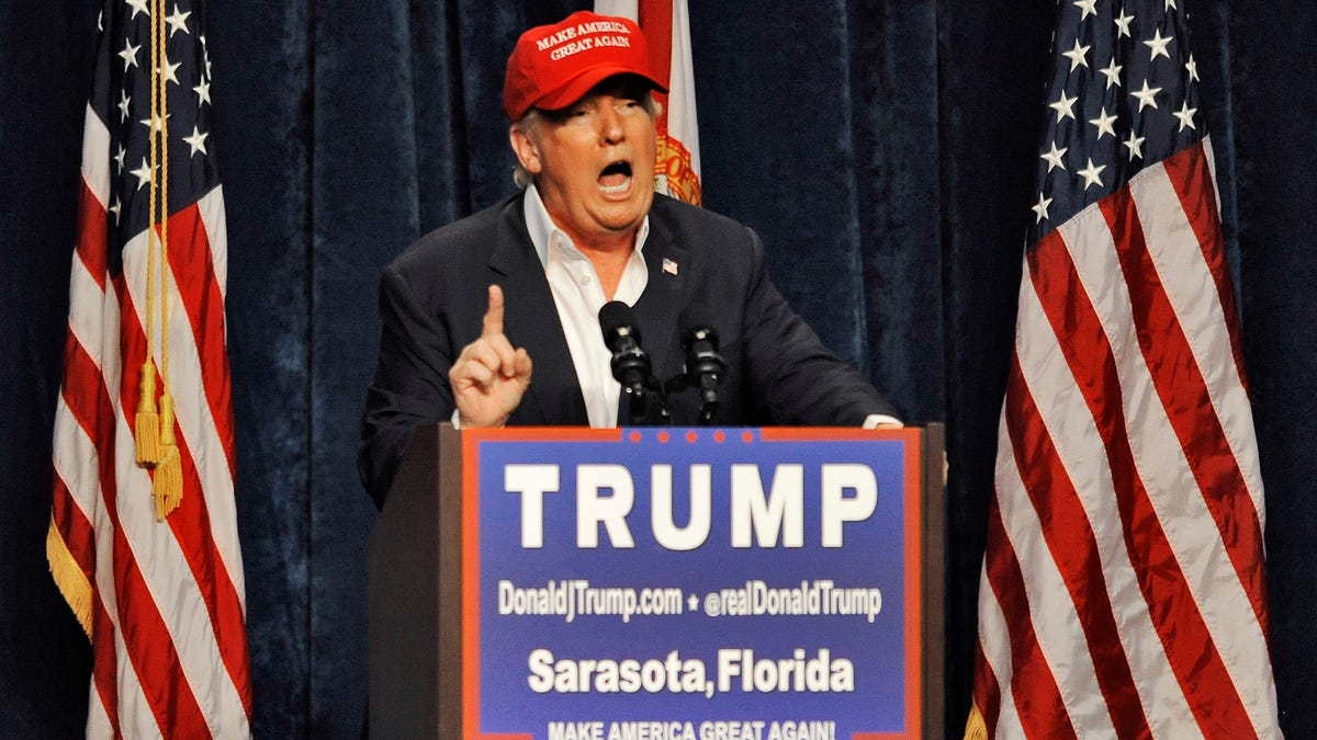 Former President Donald Trump is coming to Sarasota in July