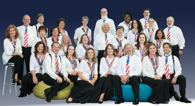 """Choral Artists of Sarasota celebrates Independence Day with """"American Fanfare,"""" its annual July 4th concert at the Sarasota Opera House."""